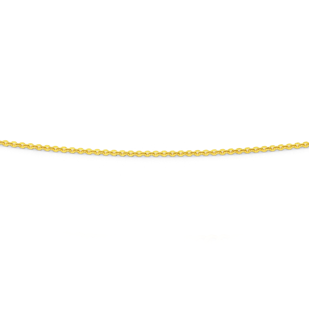 9ct 50cm Solid Trace Chain