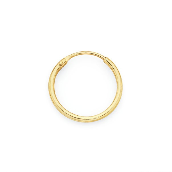 9ct Gold 1.2x10mm Nose Ring