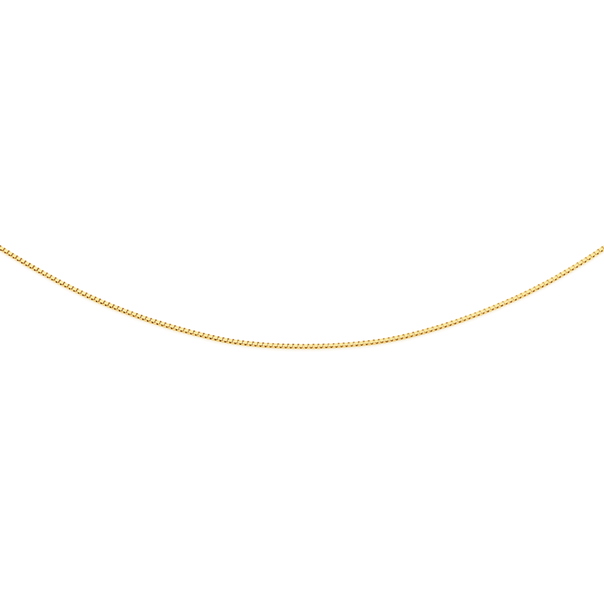 9ct Gold 45cm Box Chain