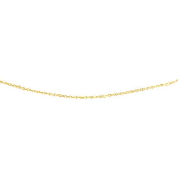 9ct Gold 45cm Solid Singapore Chain