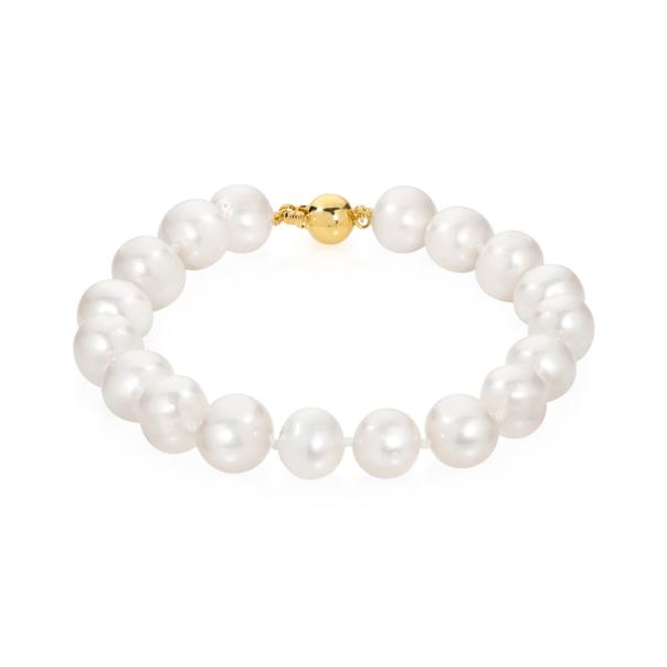 9ct Gold Cultured Freshwater Pearl Bracelet