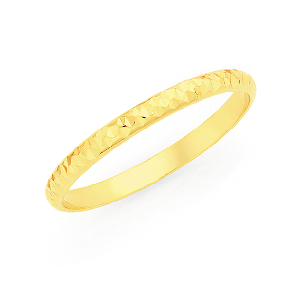 9ct Gold Fine Stacker Ring