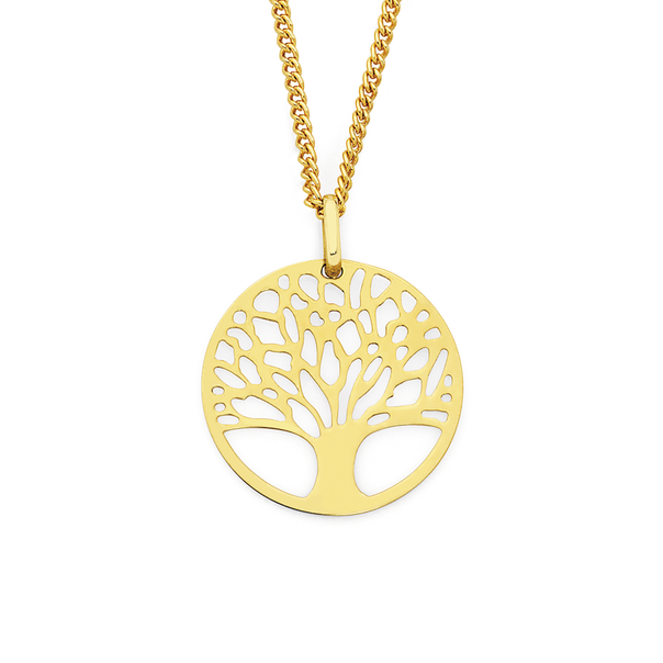 9ct Gold Tree of Life Pendant