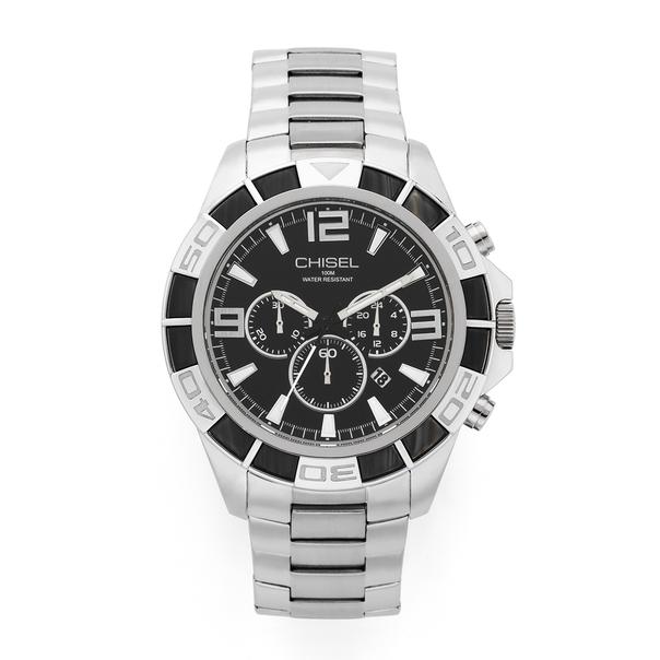 Chisel Men's Silver Tone Watch