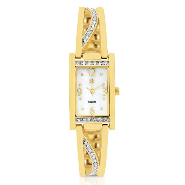 G Ladies Gold Tone Watch