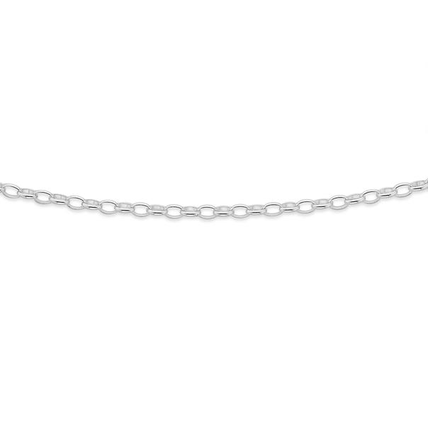 Silver 40cm Belcher Chain