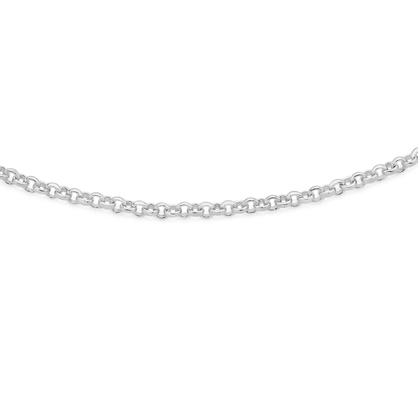 Silver 45cm Mini-Belcher Chain