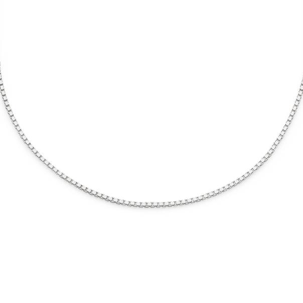 Silver 55cm Box Chain