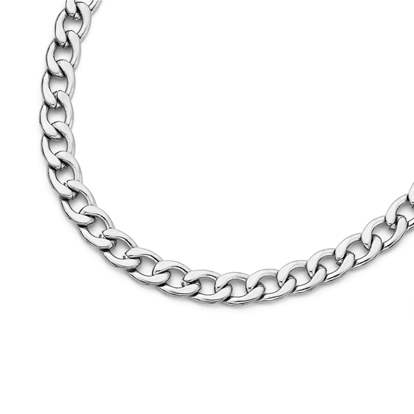 Stainless Steel 50cm Open Curb Chain